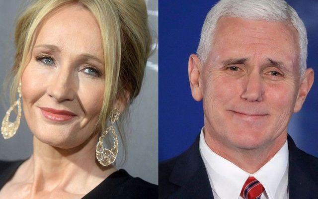 J.K. Rowling arremete contra Mike Pence con referencia bíblica - Foto de Mashable