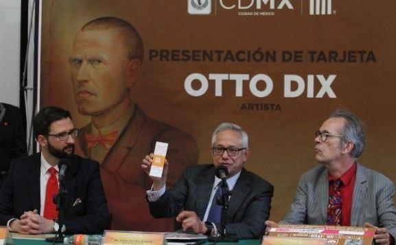 Lanzan tarjeta del Metro conmemorativa de Otto Dix