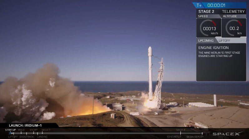 SpaceX vuelve a lanzar su cohete Falcon 9