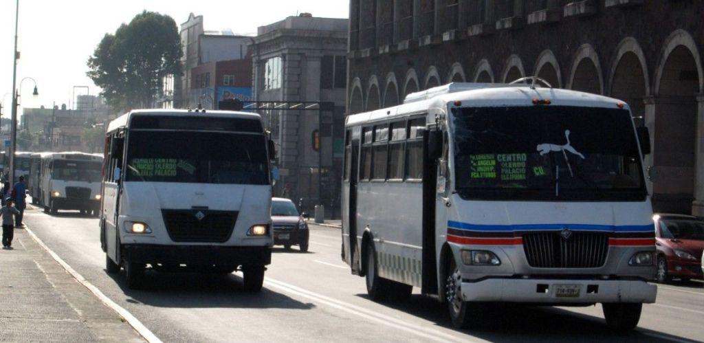 Aumentan tarifas transportes del Estado de México