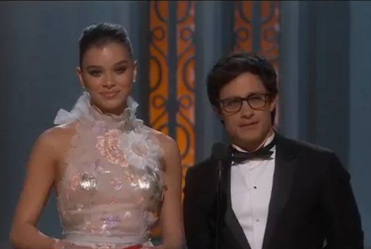 Gael García participó en los Óscares