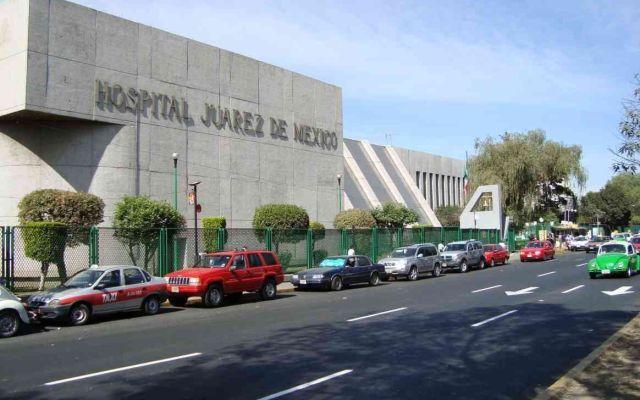 Hombres disfrazados de enfermero roban en el Hospital Juárez - Foto de Hospital Juárez de México.
