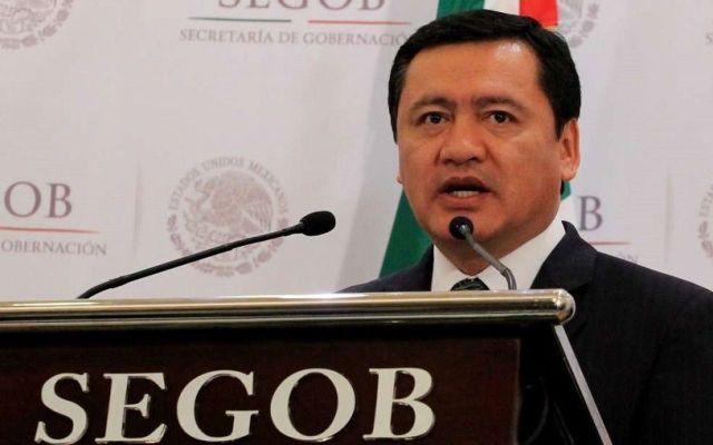 """""""EE.UU. debe saber de donde provienen recursos para el narcotráfico"""": Osorio Chong - Miguel Ángel Osorio Chong. Foto de Segob."""