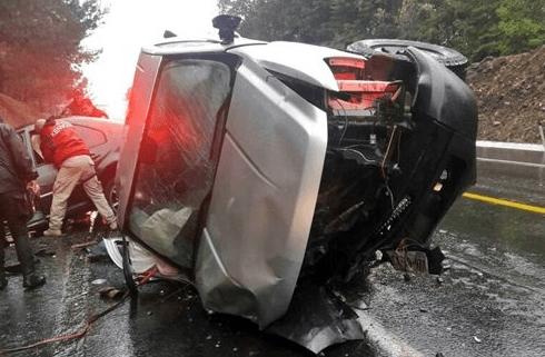 Detienen a una persona involucrada en accidente en la Autopista Siglo 21 - Foto de Internet