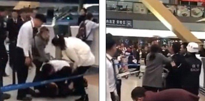 #Viral: pasajeros ebrios pelean con empleados de una aerolínea