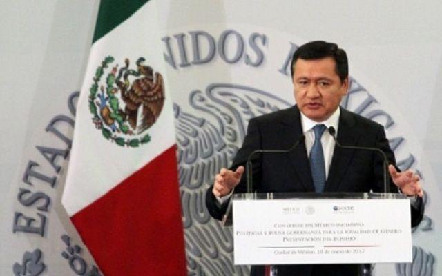 Se evitó el asesinato de líderes políticos gracias al Cisen: Osorio Chong