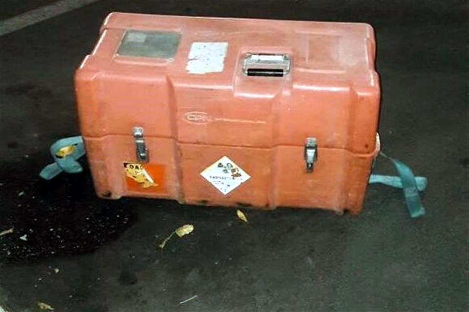 Recuperan fuente radioactiva en Tula, Hidalgo - Foto de Internet