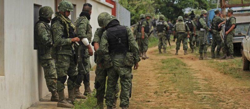 Lucha contra el narco ha dejado 139 militares muertos