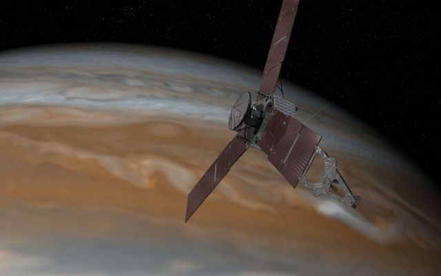 Juno hará nuevo sobrevuelo a Júpiter