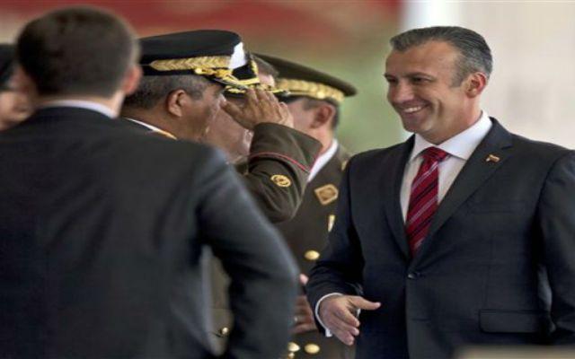 Vicepresidente venezolano responde en el NYT a las acusaciones por narcotráfico - Foto de AP
