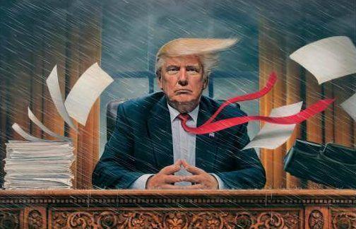 """TIME critica a Trump y a la """"tempestad que vive la Casa Blanca"""""""