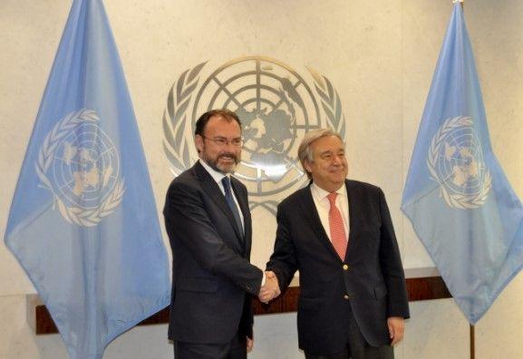 La ONU estará atenta a relación México-EE.UU.
