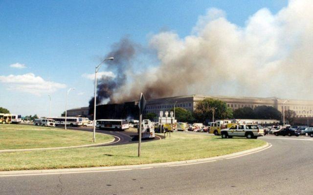 Nuevas imágenes del ataque al Pentágono del 11 de septiembre - Foto de EFE