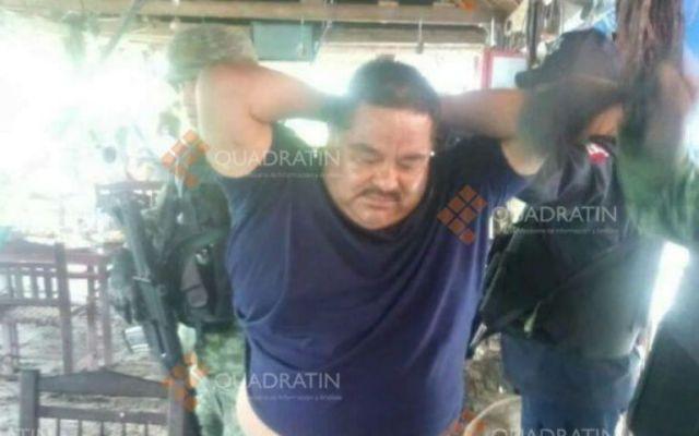 """Detienen a Gilberto Gómez Romero, alias """"El Chanda"""" - Foto de Quadratin"""