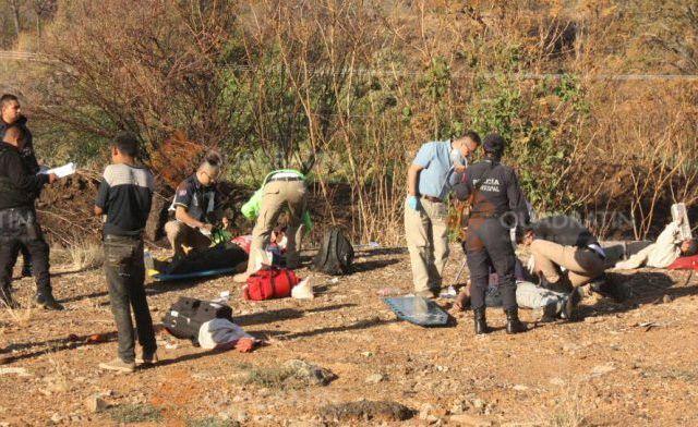 Volcadura deja 10 jornaleros heridos en la Autopista Siglo 21 - Foto de Quadratín