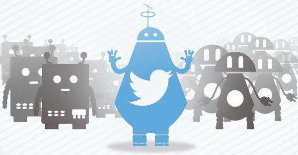 El 15 por ciento de usuarios en Twitter son bots