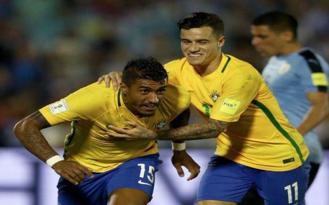 Paulinho guía la goleada de Brasil ante Uruguay - Foto de @CBF_Futebol