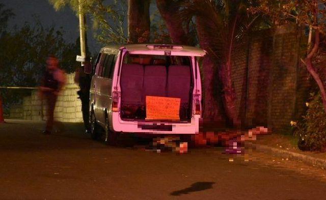 Abandonan camioneta con 11 cadáveresen Veracruz