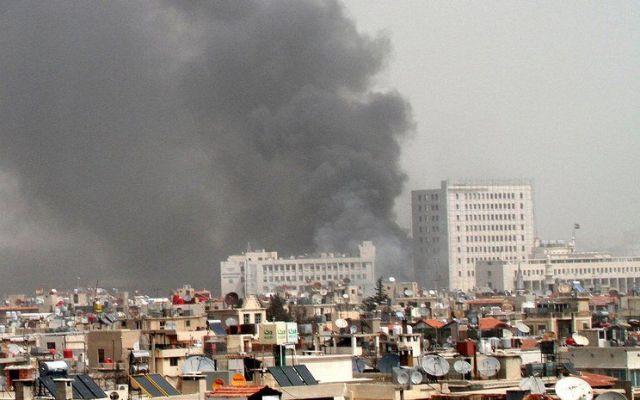 Atentado en Palacio de Justicia de Damasco deja al menos 25 muertos - Foto de Internet