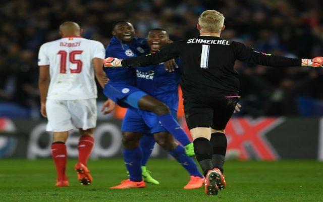 Leicester queda entre los ocho mejores clubes de Europa - Foto de @ChampionsLeague