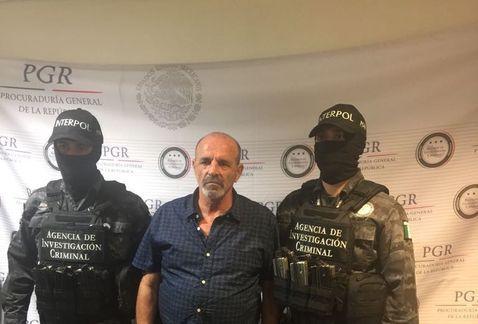Detienen a capo de la mafia italiana en Tamaulipas