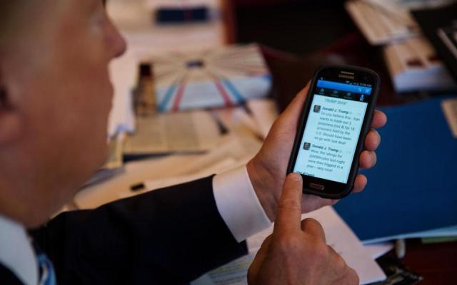 Preocupa al Congreso de Estados Unidos tuits borrados por Trump - Foto de Internet