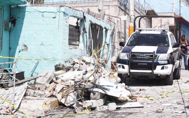 Dan de alta a dos pacientes por explosión en Tultepec - Foto de Internet