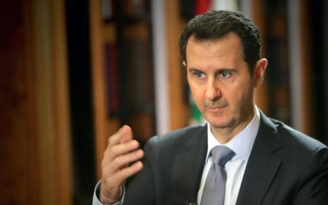 Ataque químico es un invento al cien por ciento: Bashar al Asad - Foto de AFP