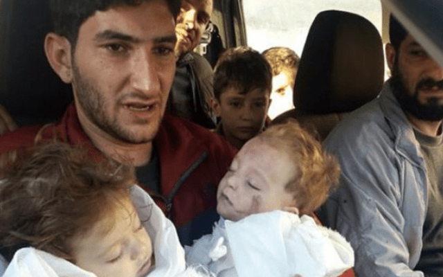 Al menos 27 niños murieron en presunto ataque con armas químicas: UNICEF - Foto de archivo