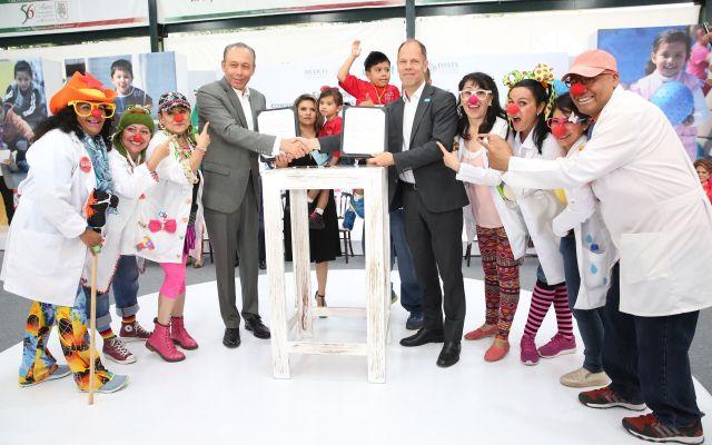 ISSSTE y UNICEF firman acuerdo en beneficio de 2 millones 500 mil niños y adolescentes