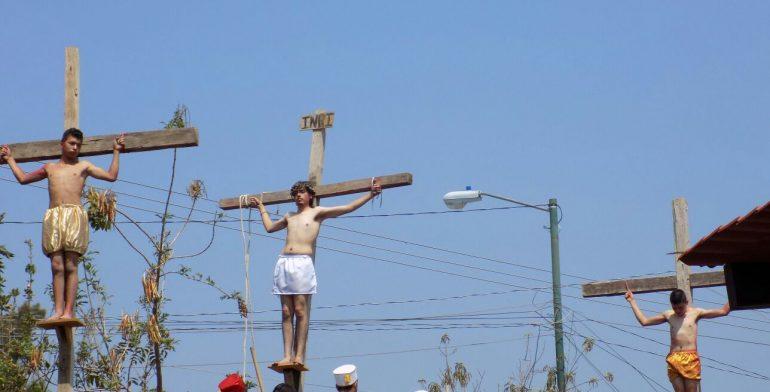 Investigan muerte de joven que interpretaba a Judas durante viacrucis - Foto de Quadratín
