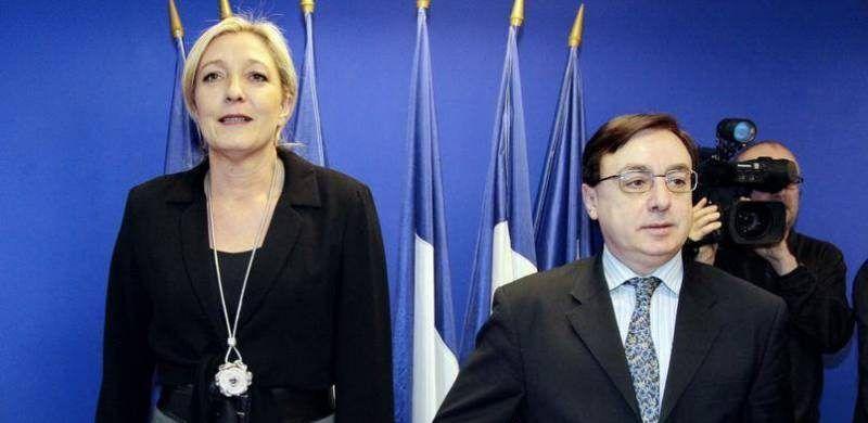 Presidente del partido de Le Pen dimite por comentario sobre el Holocausto