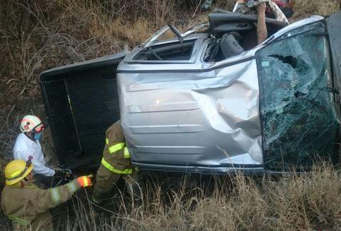 Volcadura en carretera de Guanajuato deja cuatro muertos