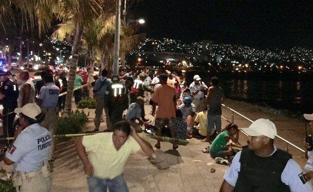 Ejecución de hombre deja siete heridos en Acapulco