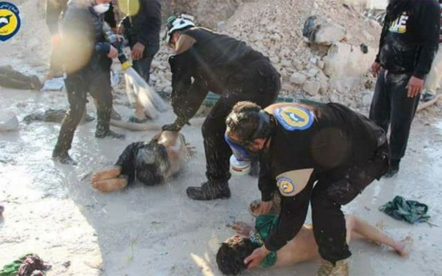 Francia ofrecerá pruebas de implicación de Assad en ataque químico - Foto de AFP