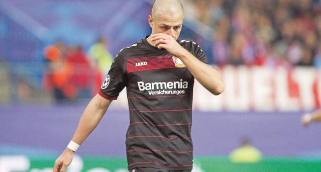 Chicharito se perderá el partido contra el Bayern Munich - Foto de Reuters