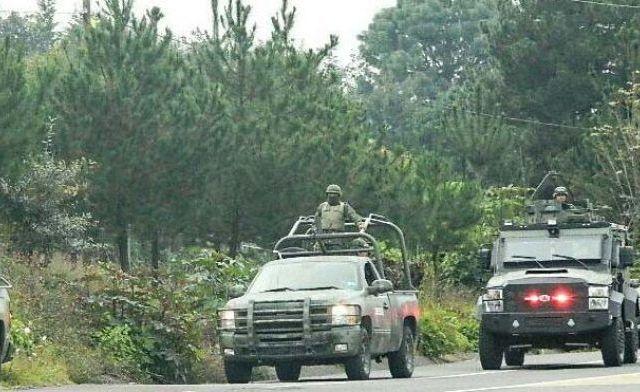 Choque de militares deja ocho heridos en Michoacán - Foto de Quadratín