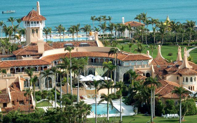 Dos mansiones de Trump en peligro por Irma - Mar-a-Lago. Foto de Getty