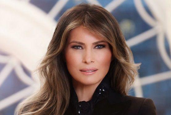 La Casa Blanca da a conocer retrato oficial de Melania Trump - Foto de @FLOTUS