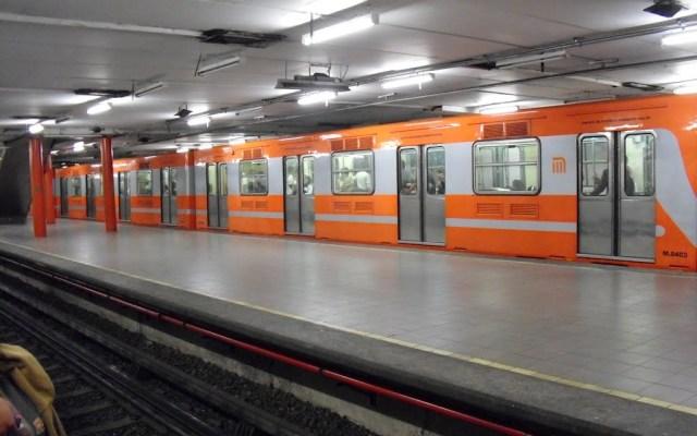 Investigan presunto suicidio en la estación  del Metro - Foto de Internet