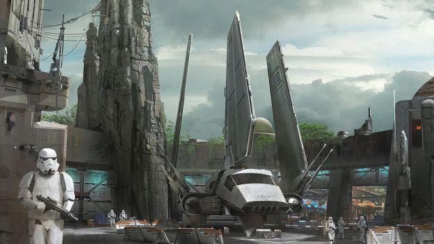 Revelan detalles del parque temático de 'Star Wars' - Star Wars Land. Foto de internet.