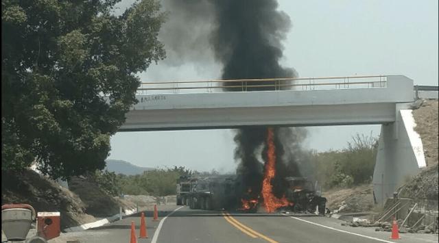 Bloqueos en la Autopista Siglo 21 por la captura de 16 criminales