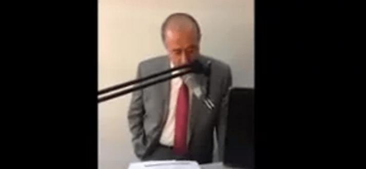 Presidente municipal llora por amenazas