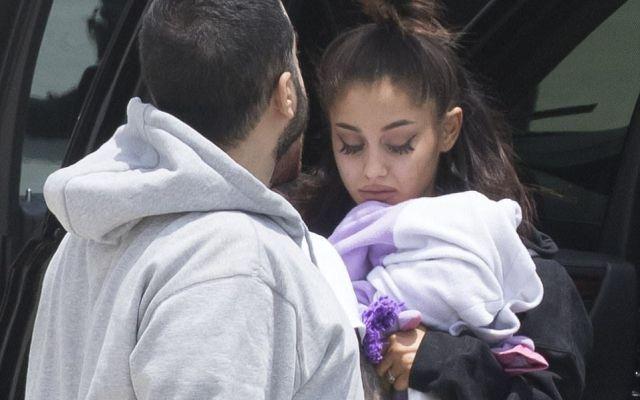 Primeras imágenes de Ariana Grande tras el ataque en Manchester - Foto de Splash News/Backgrid