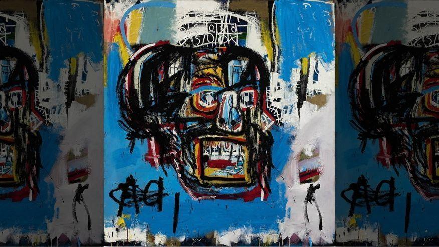 Subastan cuadro de Basquiat por más de 110 mdd - Foto de Fox News