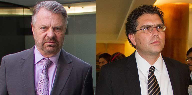 Castañeda se baja de la carrera presidencial y destapa a Ríos Píter - Jorge Castañeda y Armando Ríos Piter. Foto de Internet