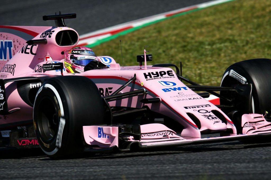 Checo Pérez logra la cuarta posición en el Gran Premio de España