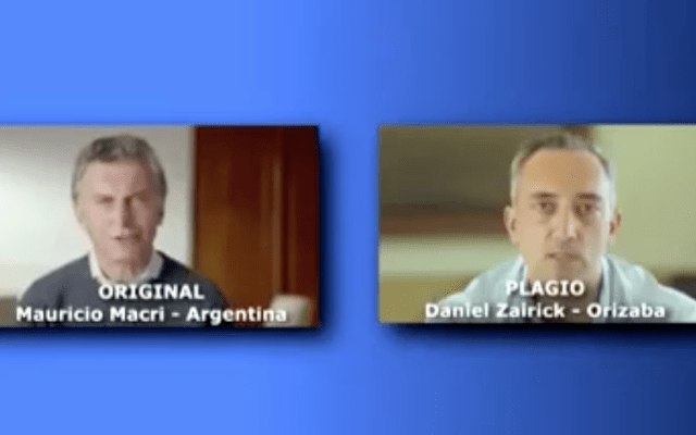 Candidato del PAN-PRD copia spot de Mauricio Macri