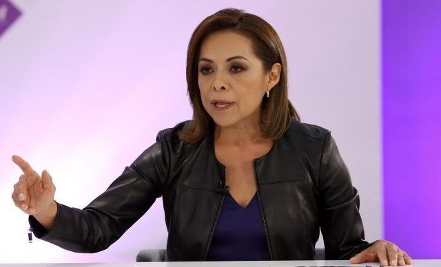 """""""AMLO es un peligro, es autoritario"""": Vázquez Mota - Foto de Notimex"""