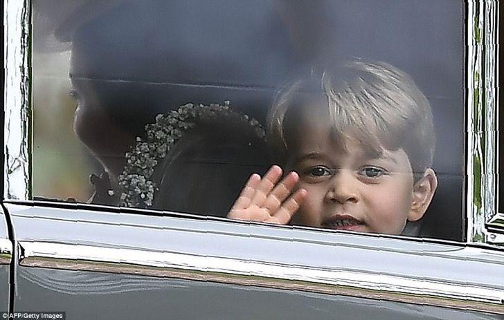 Kate Middleton regaña al príncipe George